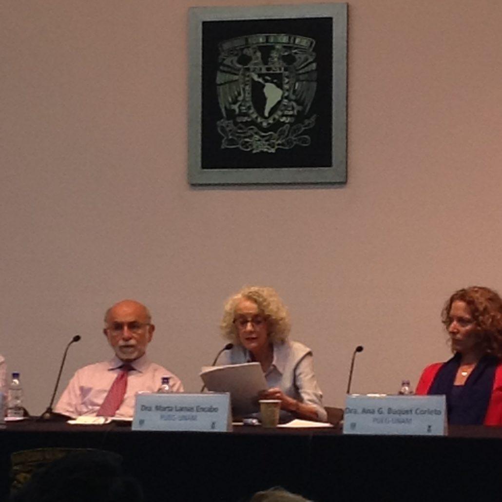 309. HeForShe. Conferencia de la Dra. Marta Lamas (Primera parte)